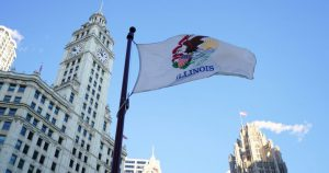 flaga Illinois