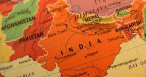 Mapa Indii